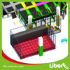 Large Size Indoor Kids Air Bag Trampoline Park Design and Building
