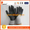 Ddsafety 2017 Black Nylon Black Nitrile Foam Glove with Ce