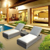 Patio Outdoor Furniture Aluminium Lounge with Side Table