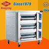European Design Upward Door 3 Deck Luxurious Electric Baking Oven Commercial
