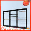 Black Clothing Display Shelf with Metal