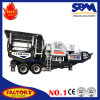 New Products Mobile Sand Crushing Plant in India