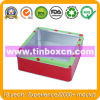 PVC Window Tin Box, Square Tin Box, Tin Can Packaging