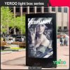 Design Fashion Advertising City Board Outdoor Light Box
