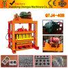 ISO Certificate Qtj4-40 Semi Automatic Mould Vibration Concrete Hollow Block Machine