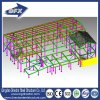 Pre-Engineered Insulated Steel Space Frame Buildings of Peb Structure with Solar Panels