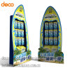 Creative Floor Display Cosmetic Cardboard Display Stand Paper Display