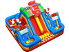 Variety of Combination Car Cheap Inflatable Obstacle Course Hot Sale