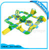 0.9mm PVC Inflatable Jumping Park / Ocean Water Playground for Sale