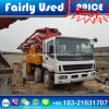 Good Condition Used Sany Isuzu Concrete Pump Truck 42m Rhd