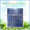 40W High Efficiency Poly Renewable Energy Saving Transparent Solar Cell