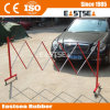 Folding Durable Metal Barrier Steel Barricade
