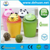 Custom Animal Design Cartoon Plastic Dustbin/ Trash Can/ Trash Bin