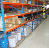Warehouse Medium Duty Storage Shelve Rack with Steel Deck