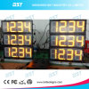 Gas Price LED Sign with Time/Clock Display and Message Sign