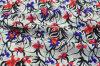 Dyeing Printed Silk Fabric