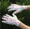 Garden Natrile Coated Glove Labor Protective Safety Work Gloves (N6005)