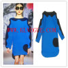 Ladies Winter Clothing Colorblock Fashion Dress