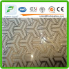 4-6mm Art Glass Acid Etched Art Glass with Ce & ISO9001