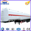 Factory Price 42cbm Diesel/Petrol/Crude Oil Storage Tank/Tanker Truck Semi Trailer