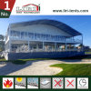 Arch Dome Roof Double/ Triple Decker Sports Event Tent with Galss Walls for Golf Events