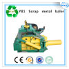 Y81-1250 Turn out Manual Hydraulic Scrap Iron Baling Machine