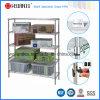 DIY Chrome Grocery Bin Storage Wire Shelving