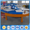Oval Automatic Silk Screen Printing Machine with Good Service