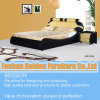 Home Furniture Wood Double Bed Designs (2820)
