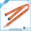 Factory No Mini Order Silk Creeen Printed Lanyards