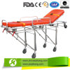 Patient Transfer Stretcher Trolley with Aluminum Alloy Material Structure (CE/FDA/ISO)