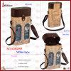 2 Bottle Best Selling Custom Leather Wine Box (2868R9)
