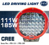 111W Clear Cover Waterproof 185W CREE Offroad LED Driving Light (PD111)