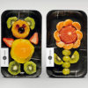 Factory Custom High Quality Black Plastic Blister Trays for Fruit/Meat Packing
