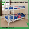 Solid Pine Wood Bunk Bed for School Furniture (WJZ-357A)