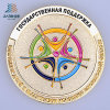 Customized Enamel Both Side Police Commemorative or Souvenir Coin in Metal
