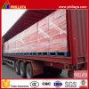 Easy Loading Tri-Axle Curtain Side Semi Trailer