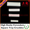 High Density Corundum Square Tray Crucibles