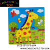 Wooden Cartoon Giraffe Jigsaw Puzzle Toy for Childre (CXT13943)