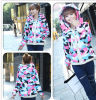 New Arrival Padded High Quality Camouflage Down Coat with Hood