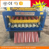 Roof Tile Making Machine with Hydraulic Cutting