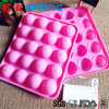 Silicone Baking Molds 20 Cavity Lollipop Candy Pan