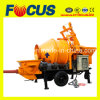 Jbt30 Electric or Diesel Concrete Mixer with Pump/ Concrete Pump Mixer