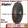 200X50 Semi-Pneumatic Rubber Tires for Lawnmower