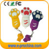 PVC Dog Feet Shape Colorful Keychain USB Flash Drive (EP283)