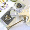 Stainless Steel Heart-Shaped Tea Filter Spoon