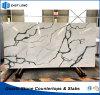 Polished Artificial Stone for Quartz Slabs with High Quality (Calacatta)