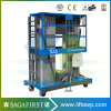 Double-Mast Aluminium Aerial Lift Platform Work Lifts with Ce
