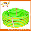 Fluorescent Green Garden Hose, Flexile in Low Temparature