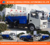 Dongfeng 6wheels High-Pressure Cleaning, Sewage Sution Truck with Vacuum Pump